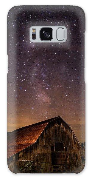 Milky Way Over Boxley Barn Galaxy Case
