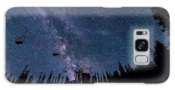 Milky Way Over Chairlift Galaxy Case