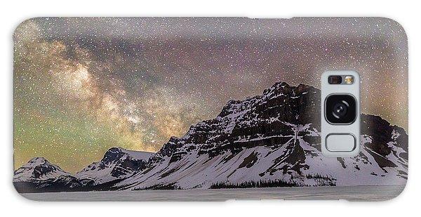 Milky Way Over Crowfoot Mountain Galaxy Case