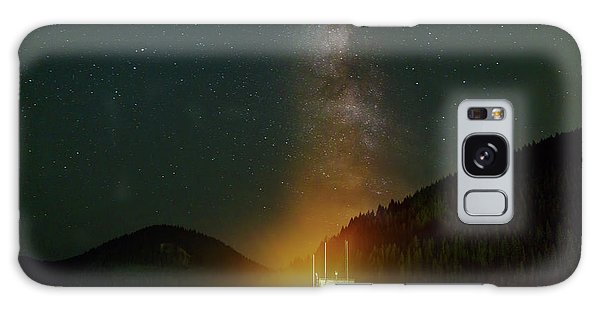 Milky Way Over Detroit Dam Galaxy Case
