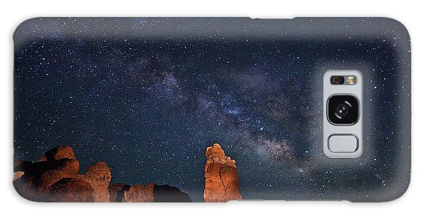 Milky Way Over Garden Of Eden Galaxy Case