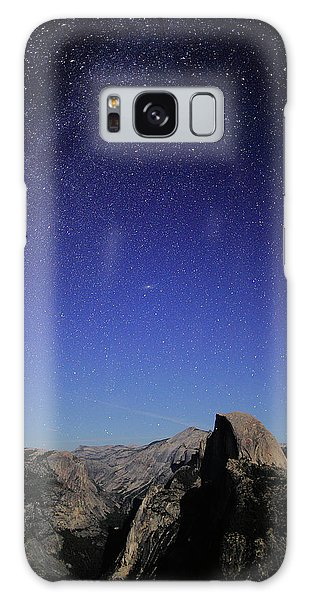 Milky Way Over Half Dome Galaxy Case