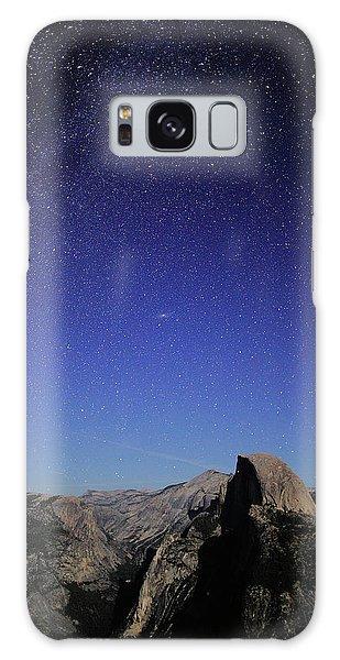 Milky Way Over Half Dome Galaxy Case