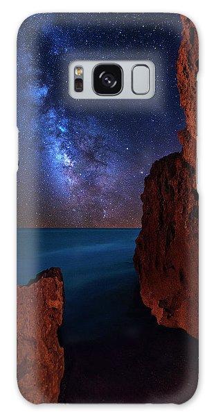 Milky Way Over Huchinson Island Beach Florida Galaxy Case by Justin Kelefas