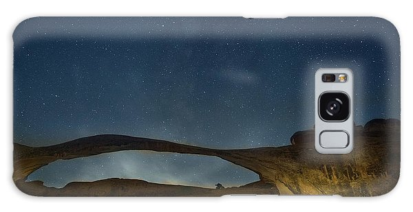 Milky Way Over Landscape Arch Galaxy Case