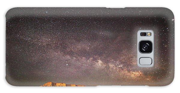 Milky Way Over Lechee Rock Near Page Az Galaxy Case