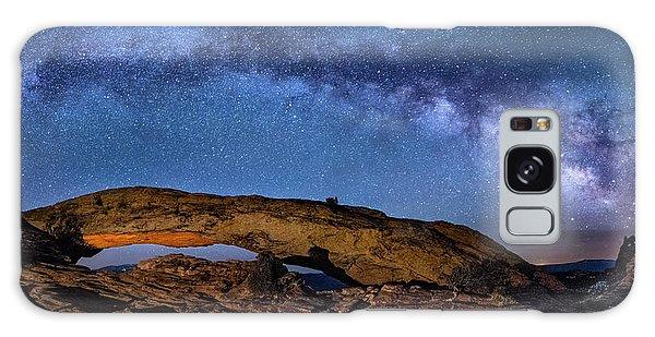 Milky Way Over Mesa Arch Galaxy Case