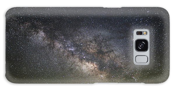 Milky Way Over Monument Valley Galaxy Case