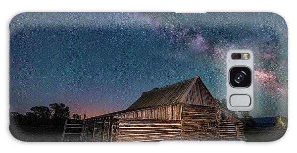 Milky Way Over Moulton Barn Galaxy Case
