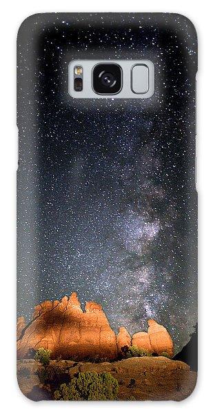 Milky Way Over Navajo Rocks Galaxy Case