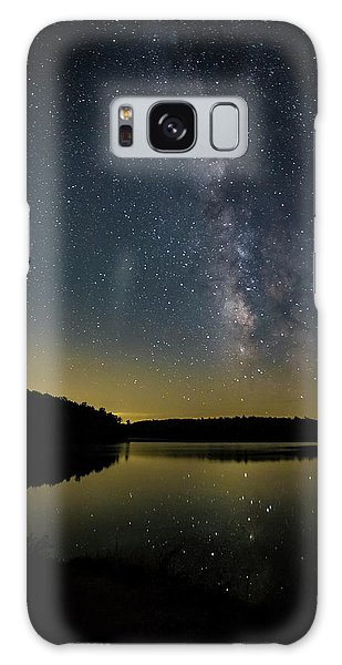 Milky Way Over Price Lake Galaxy Case