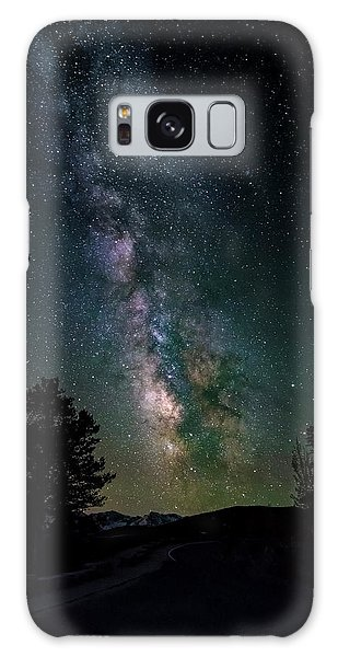 Milky Way Over Rocky Mountains Galaxy Case