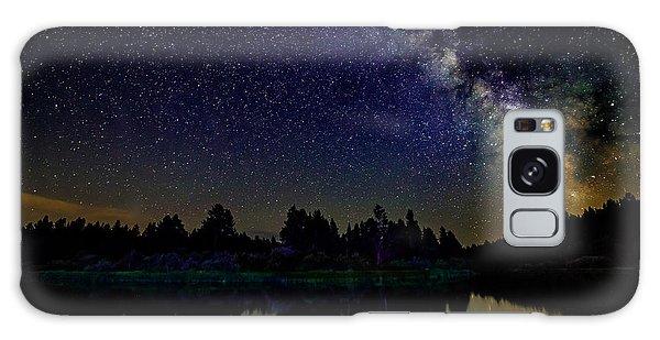 Milky Way Over The Deschutes River - 2 Galaxy Case