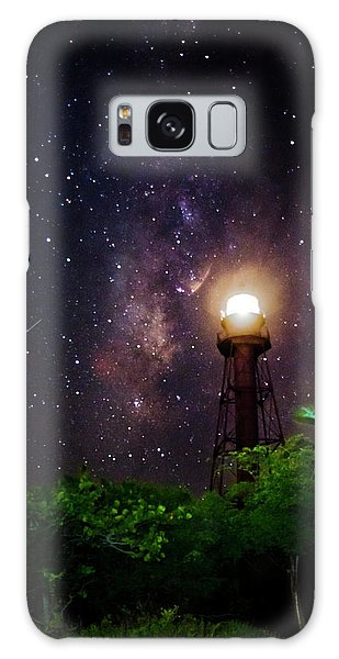 Milky Way Over The Sanibel Lighthouse Galaxy Case