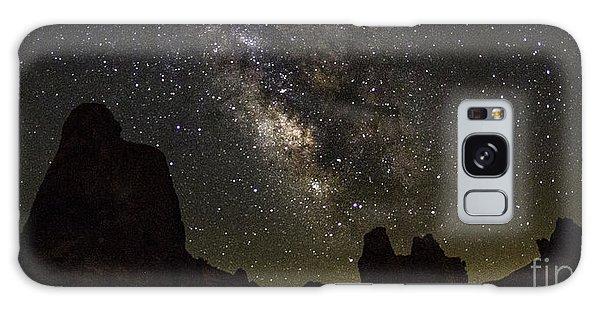 Milky Way Over Trona Pinnacles Galaxy Case