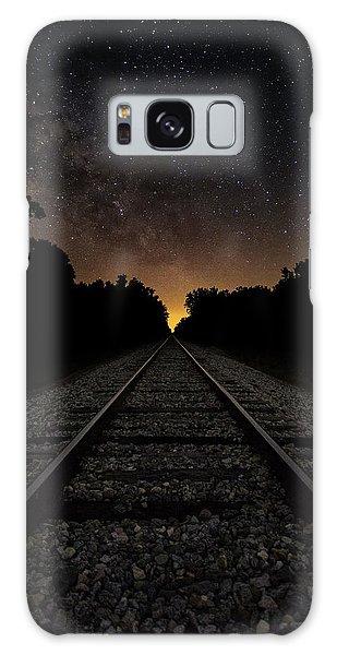 Astro Galaxy Case - Milky Way Tracks by Chris Haverstick