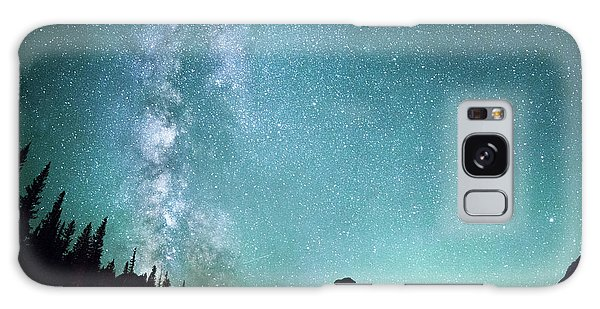 Milky Way // Two Medicine Lake, Glacier National Park Galaxy Case