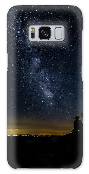 Milky Way Viewed From Rough Ridge Galaxy Case