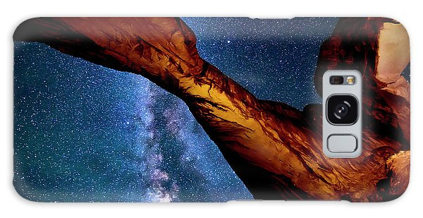 Milkyway At Arches Galaxy Case