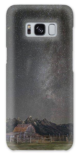 Milkyway Over The John Moulton Barn Galaxy Case by Roman Kurywczak