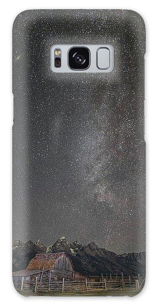 Milkyway Over The John Moulton Barn Galaxy Case