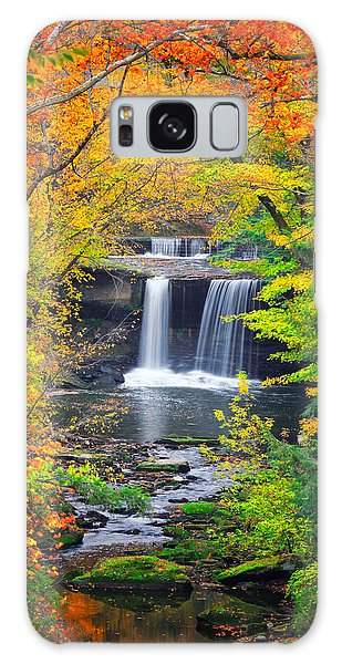 Mill Creek Fall  Galaxy Case