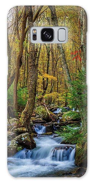 Mill Creek In Fall #1 Galaxy Case