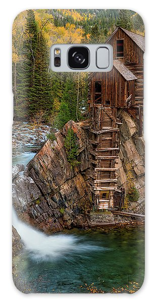 Mill In The Mountains Galaxy Case