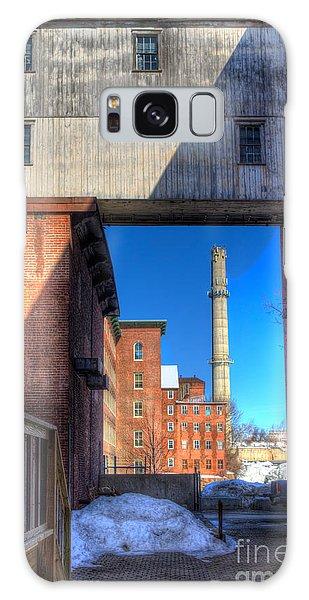 Mill Yard Galaxy Case by David Bishop