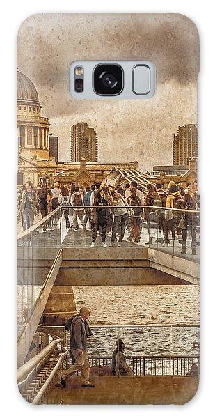 London, England - Millennium Bridge II Galaxy Case