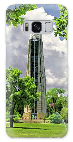 Galaxy Case featuring the painting Millennium Carillon by Christopher Arndt