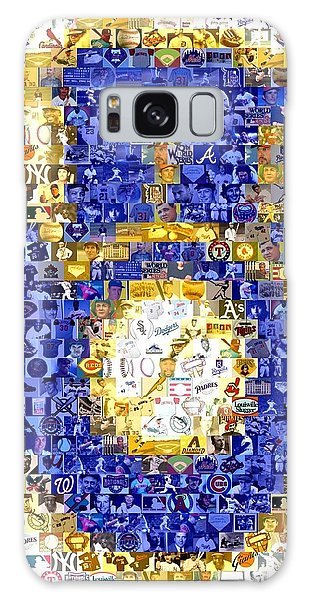 Milwaukee Brewers Mosaic Galaxy Case by Paul Van Scott