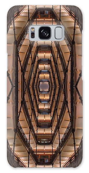 Indoors Galaxy Case - Milwaukee City Halll Atrium by Scott Norris