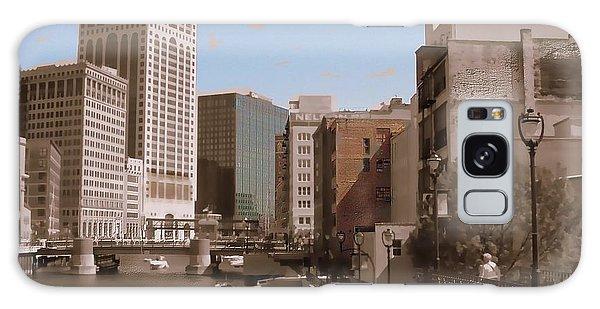 Milwaukee Riverwalk Galaxy Case
