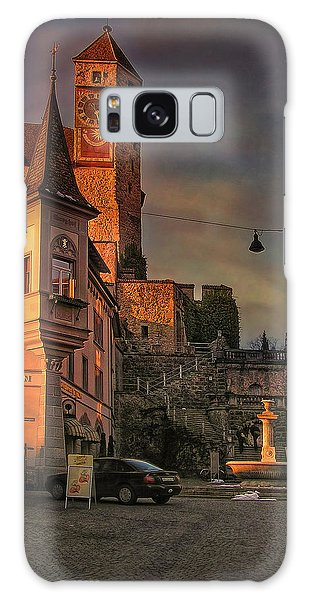 Galaxy Case featuring the photograph Main Square by Hanny Heim