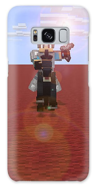 Minecraft Knight Galaxy Case