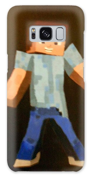 Minecraft Steve Galaxy Case
