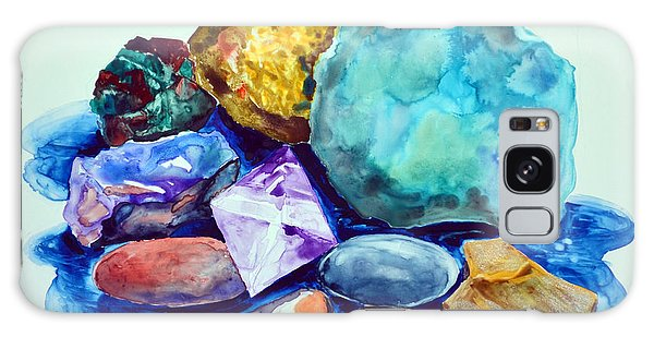 Minerals And Beachstones Galaxy Case