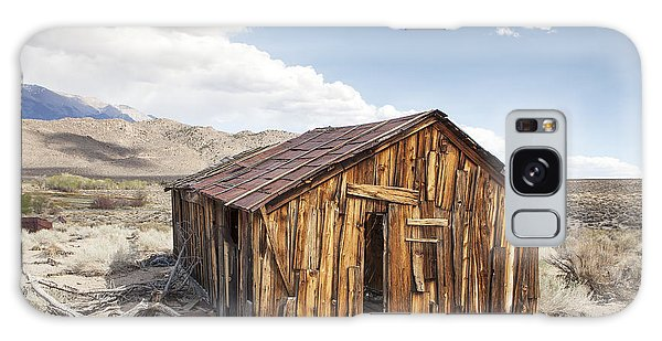 Miner's Shack In Benton Hot Springs Galaxy Case