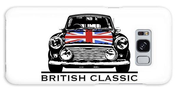 Mini British Classic Galaxy Case