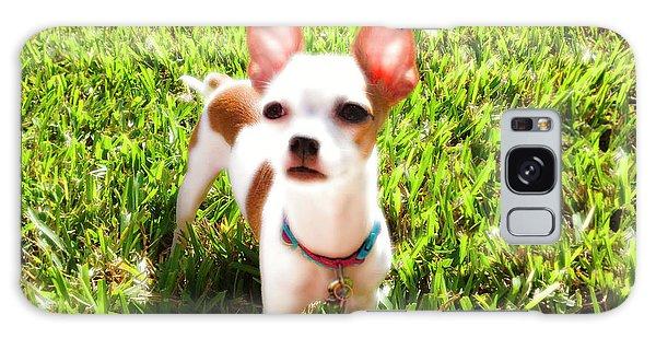 Mini Dog Galaxy Case by Josy Cue
