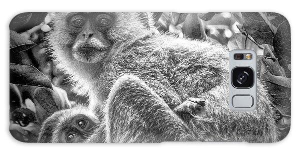 Mini Me Monkey Galaxy Case