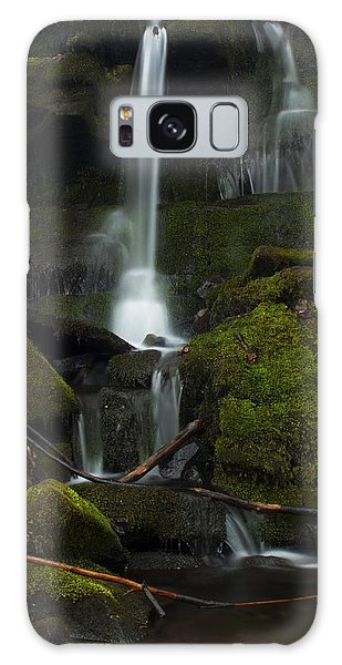 Mini Waterfall In The Forest Galaxy Case by Jeff Severson