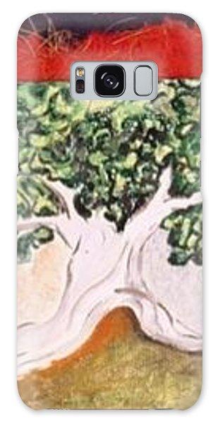 Miniature. Mr. Tree. Imaginaryscape Galaxy Case