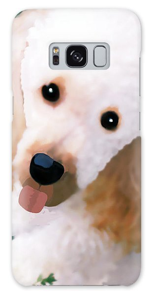 Miniature Poodle Albie Galaxy Case