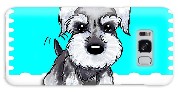 Miniature Schnauzer Galaxy Case