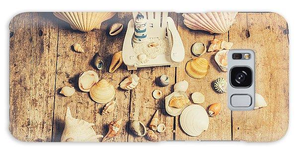 Marina Galaxy Case - Miniature Sea Escape by Jorgo Photography - Wall Art Gallery