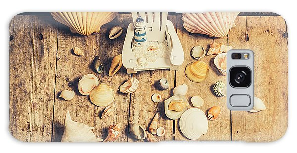Decorative Galaxy Case - Miniature Sea Escape by Jorgo Photography - Wall Art Gallery