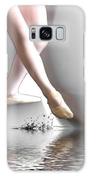 Minimalist Ballet Galaxy Case by Angel Jesus De la Fuente
