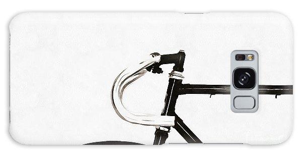 Bike Galaxy Case - Minimalist Bicycle Painting by Edward Fielding